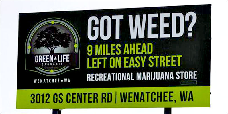 """post-image-Washington State Lawmakers Don't Think Cannabis Billboards Should """"Appeal To Kids"""""""